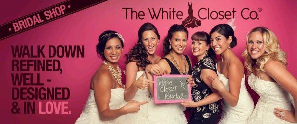 The White Closet Brides have all the fun!!!