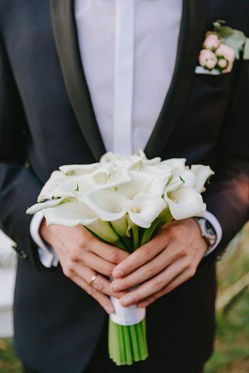 Callas bouquet