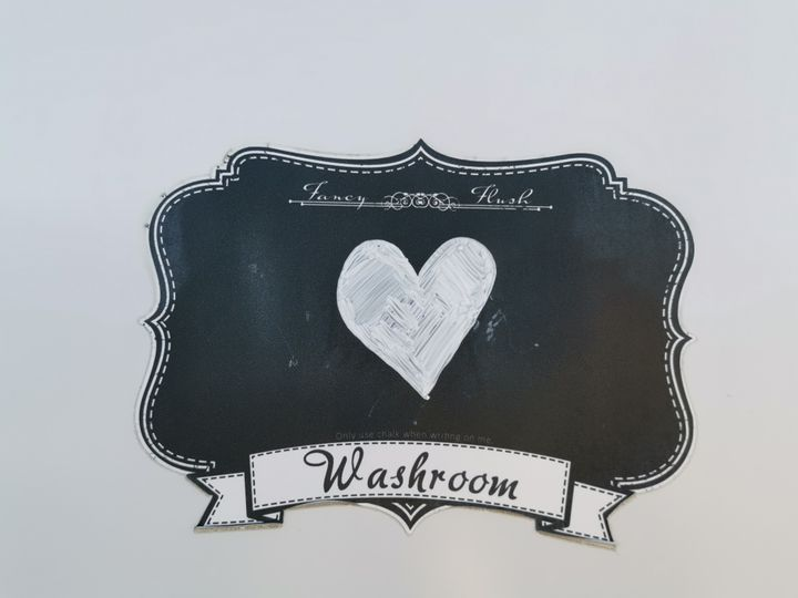 Customizable restroom signs