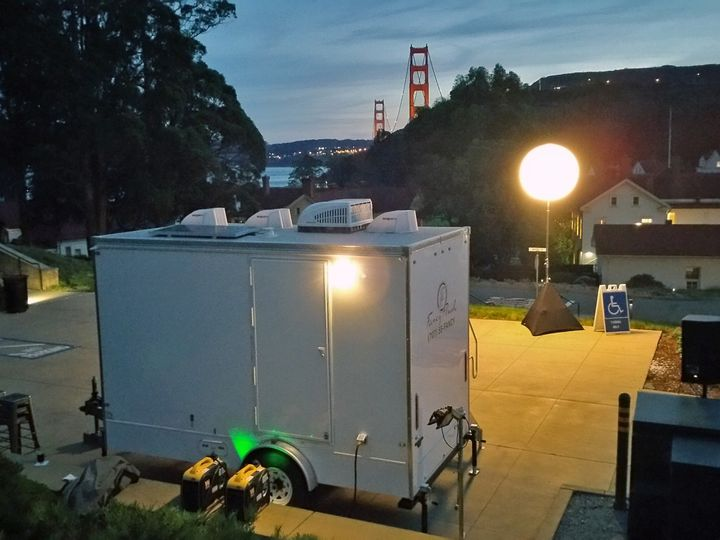 Tmx Luxury Portable Flushing Restroom Trailers In Sausalito Near The Golden Gate Bridge Fancyflush Luxuryrestroomtrailer 51 722737 158327984616919 Santa Rosa, CA wedding rental
