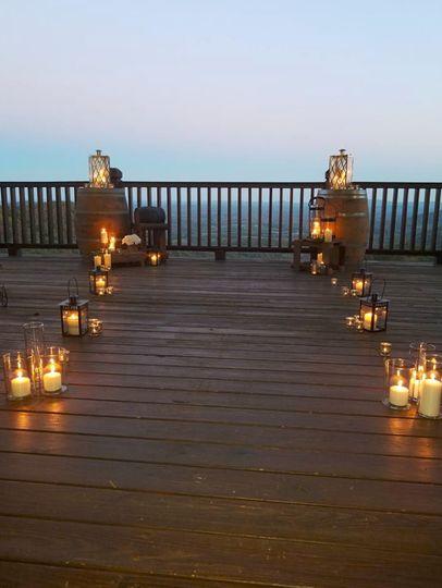 Lights on deck