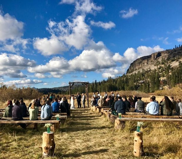 Kirkwood Meadow ceremony