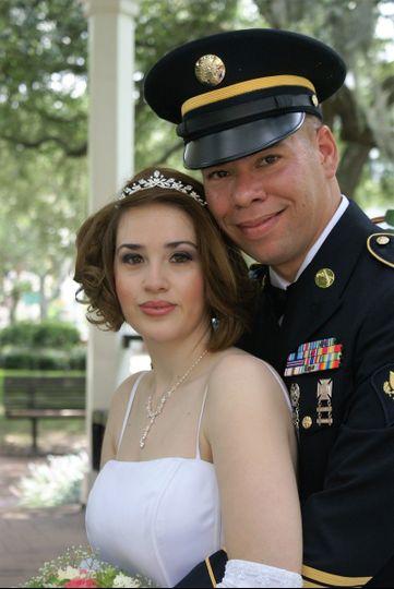 Gazebo Weddings of Savannah - offers military discounts