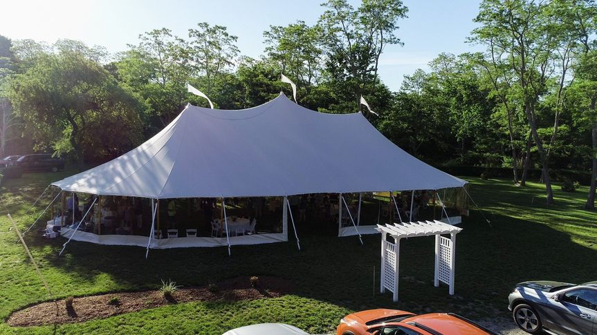 Large tent - Sagamore Inn Restaurant