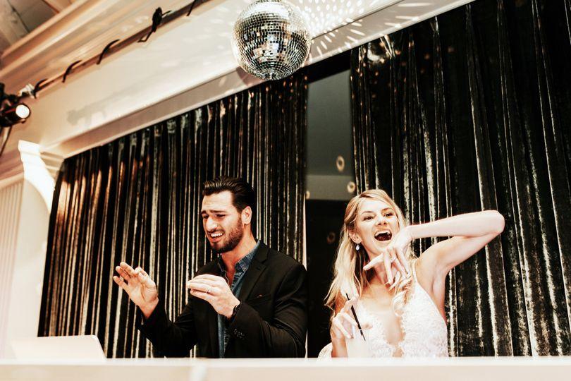DJ and Bride