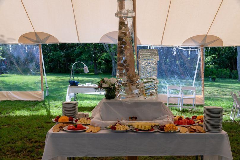Table setup - Sagamore Inn Restaurant