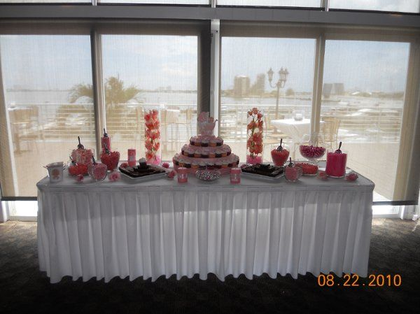Candy & Dessert Station -  Baby Shower @ The Doubletree Grand Hotel - August 22, 2010