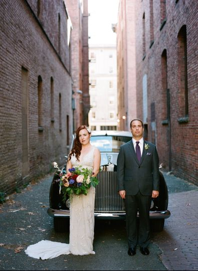 Urban Glam Wedding. Photo by Catherine Abegg.