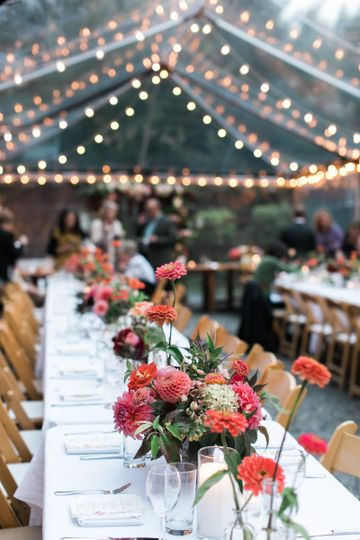 Rustic Chic Mt. Rainier Wedding