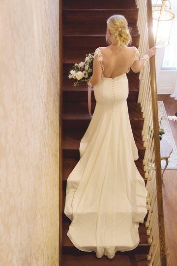 Bridal dress | Redandfawn.com