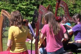 Leslie McMichael, harpist