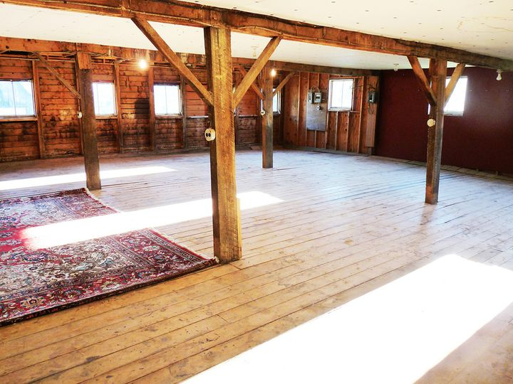 Big barn interior
