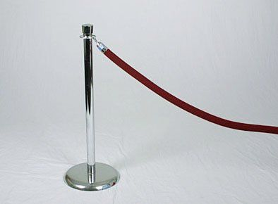 stanchionwithredrope