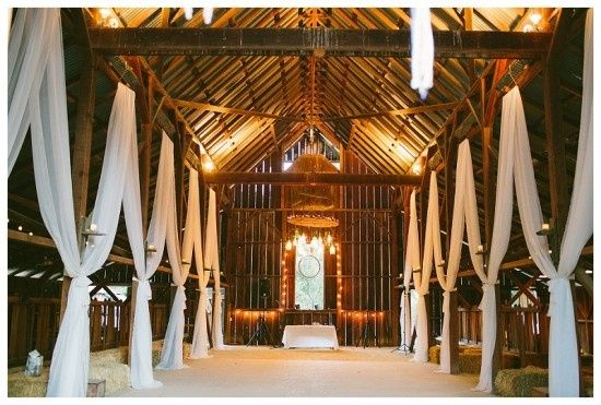 Indoor wedding venue