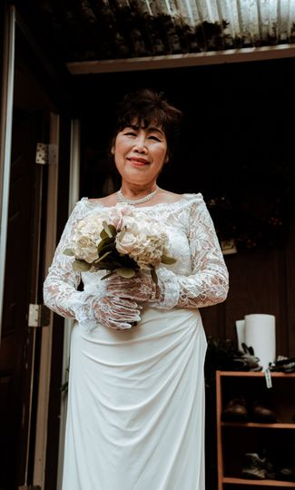 My mother before her wedding