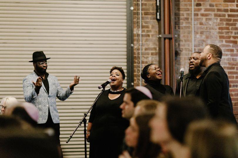 DWP Gospel ensemble