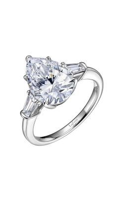 Pear 3-stone Engagement Ring