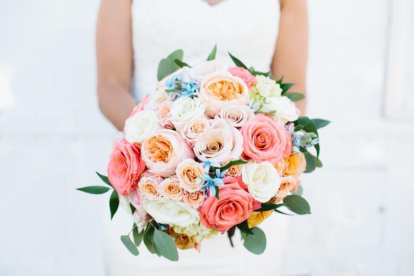 Summer inspired bouquet