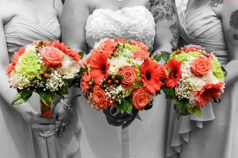 Bright bold bouquets
