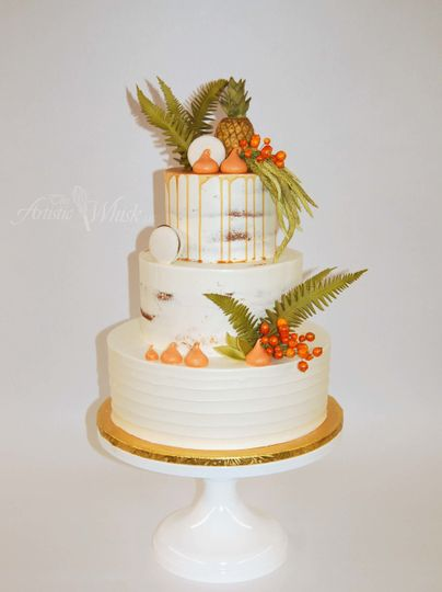 Tropical themed cakes