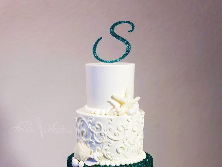 Tmx 1516737576 A740e7040ace52cc 1516737571 31d23b202c64fd6b 1516737518910 20 Glitter Texture   Saint Petersburg, Florida wedding cake