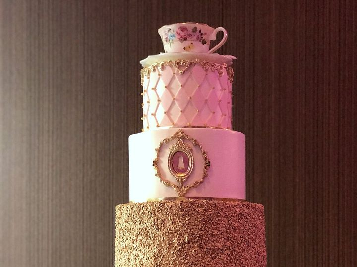 Tmx 1516740239 D1ff2121f9d5ee75 1516740236 6a09e9ceaff77667 1516740235058 22 In Wonderland   B Saint Petersburg, Florida wedding cake