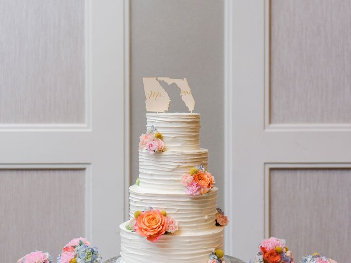 Tmx 1516740292 287f29622a47629e 1516740289 53416aa7aa9093dd 1516740290164 28 Textured Buttercr Saint Petersburg, Florida wedding cake