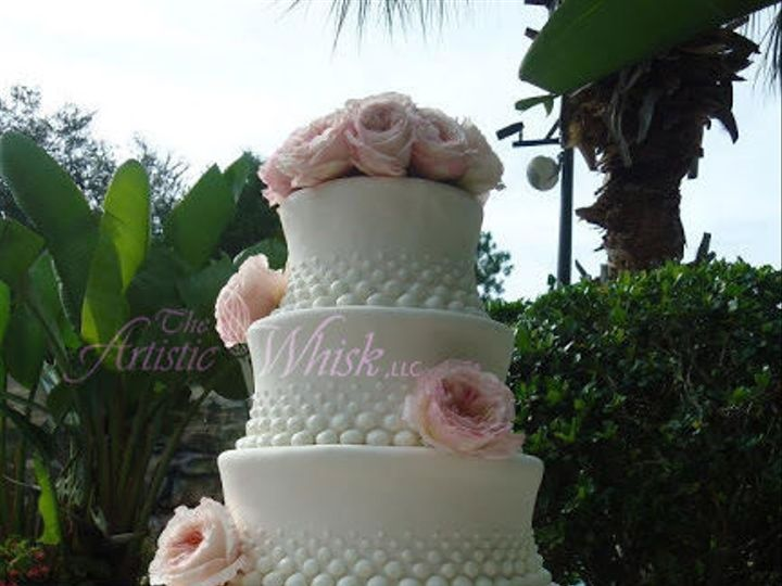 Tmx 1516745453 C74d8324cf87a5b6 1516745452 2218a575e2193711 1516745443446 11 Fondant Fountain Saint Petersburg, Florida wedding cake