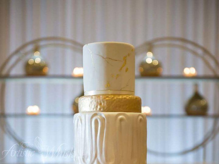 Tmx 1516745535 5733a5d6e9a76473 1516745532 Bca92434160f53fb 1516745520441 26 Modern Stone   Fo Saint Petersburg, Florida wedding cake