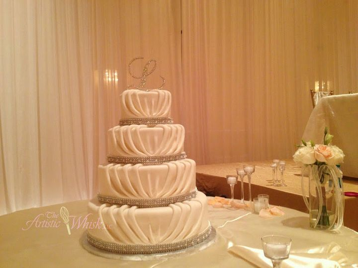 Tmx 1516745535 Ea6ef35312877515 1516745533 E48b08bd183f8675 1516745520449 30 Rouching Saint Petersburg, Florida wedding cake
