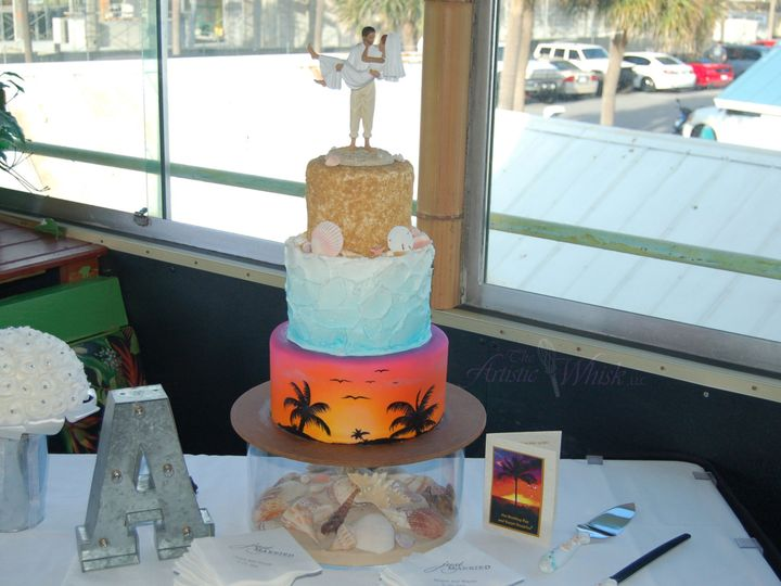 Tmx 1516746278 8adc532be2fc66e3 1516746276 1f5a50087168ee12 1516746274332 14 Vegan Sunset Saint Petersburg, Florida wedding cake