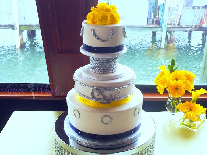 Tmx 1516746306 5dfe424f80bd4720 1516746303 34c42c9f54952cec 1516746292745 17 Starlight Love Kn Saint Petersburg, Florida wedding cake