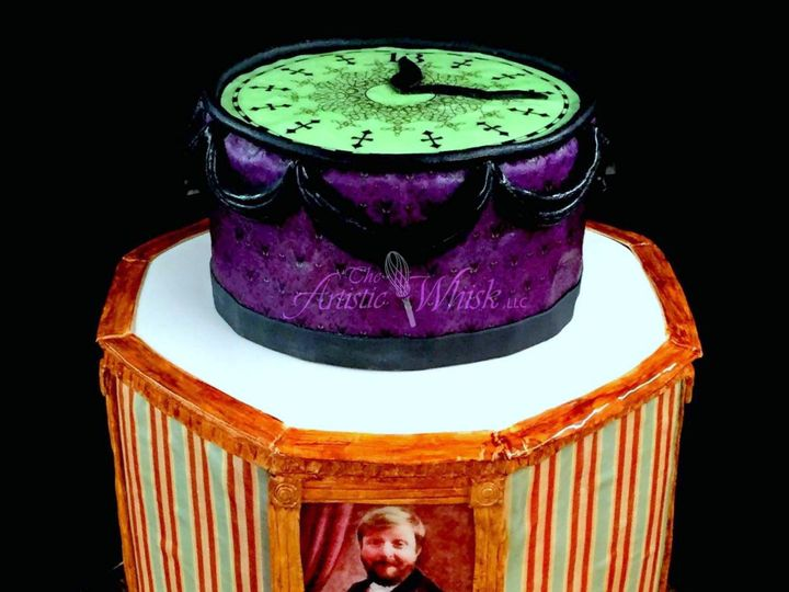 Tmx 1516746648 C9403667e739e135 1516746645 2254f1cebe4390ce 1516746634752 17 Haunted Mansion C Saint Petersburg, Florida wedding cake