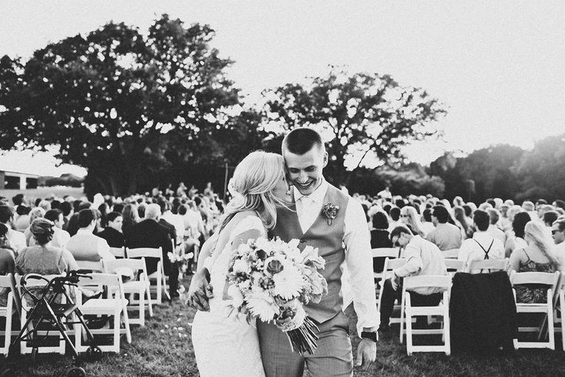 waco wedding recessional joy