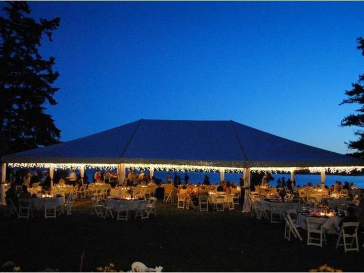 Tmx 1457377108231 40x60 Tent Night Eastsound, WA wedding rental