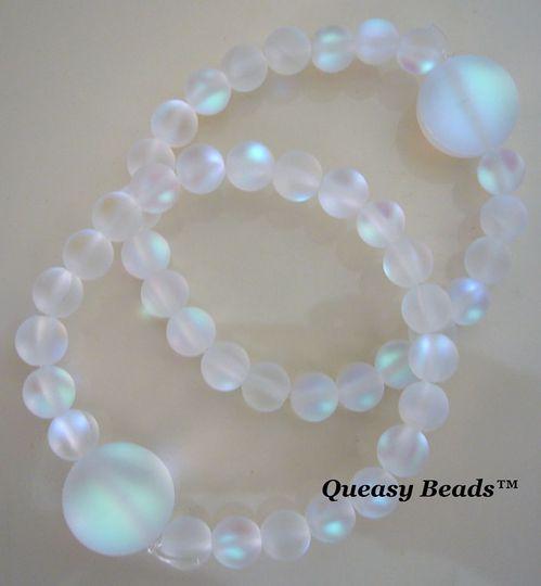 Queasy Beads™ in Aura Quartz