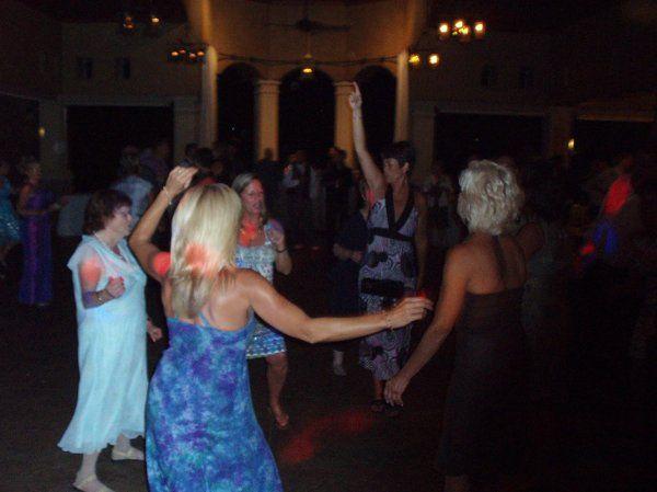 Guest's dancing