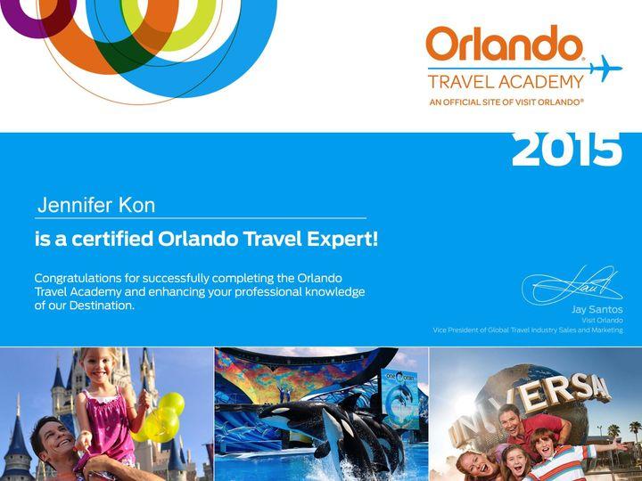 Tmx 1441826766112 Orlando Certificate Columbus wedding travel