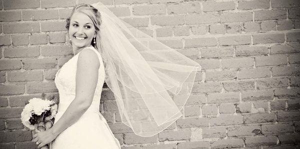 a beautiful spring bride