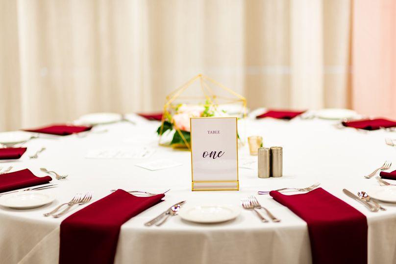 Elegant dining options