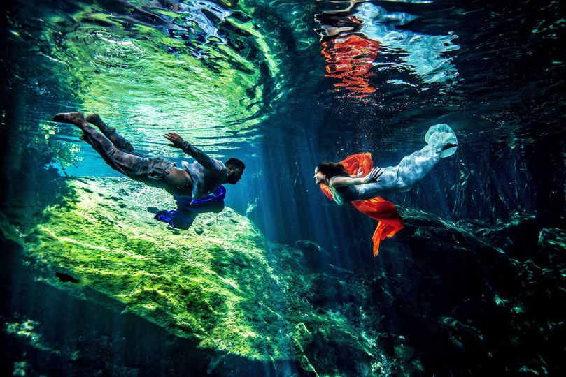 trash the dress underwater cinthia and jacob 9 o