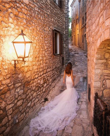 Violeta in Ulqin, Montenegro.