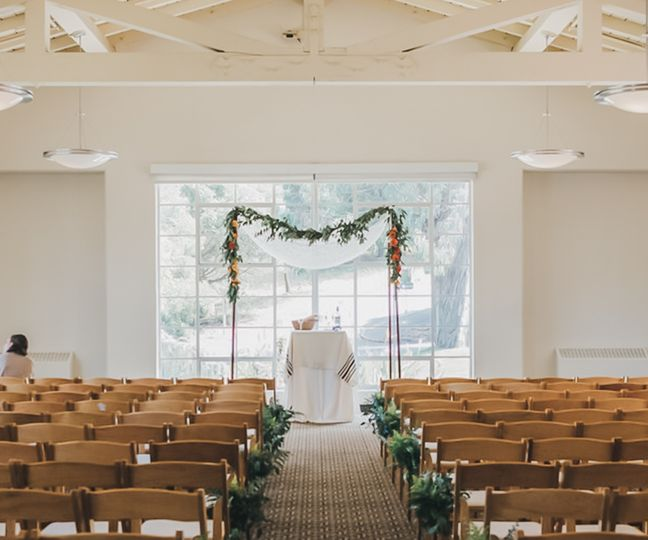 Indoor Ceremony Altar