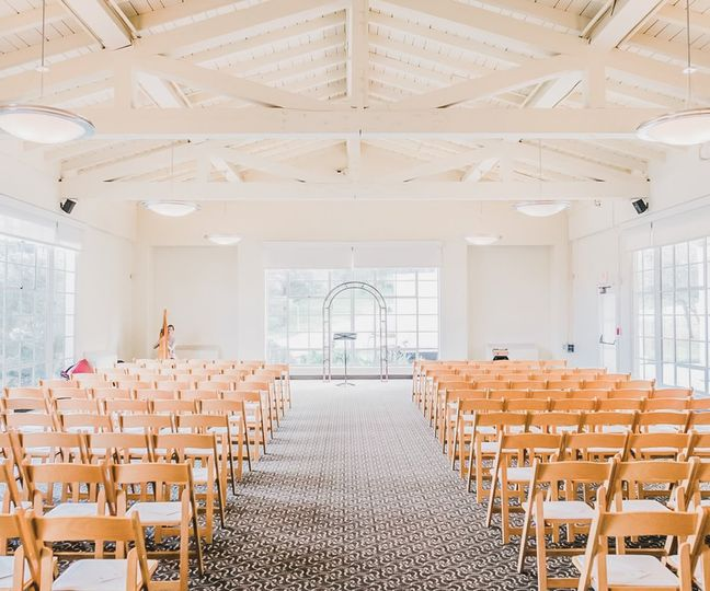 Indoor Ceremony Seating