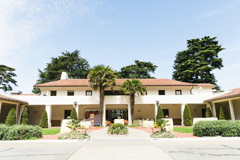 Golden Gate Club Courtyard
