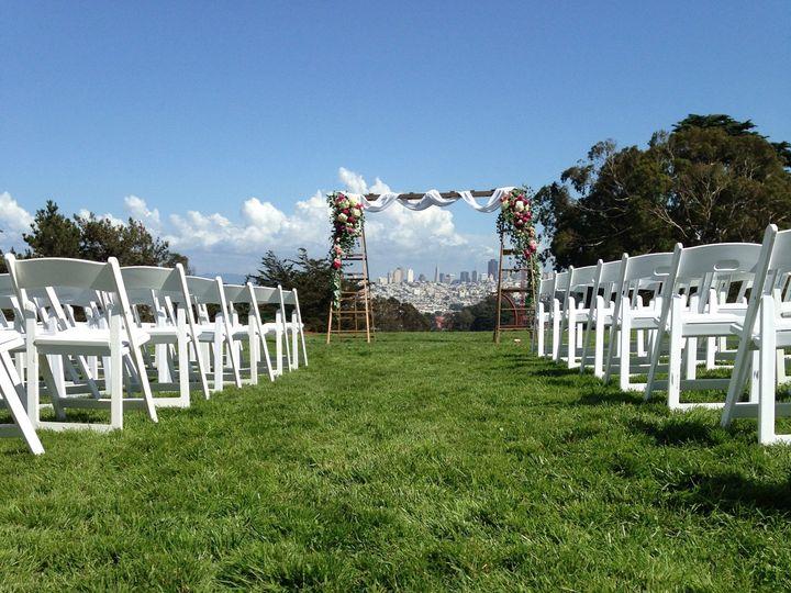 Tmx 1449773103450 Log Cabin Lawn Ceremony Set Up San Francisco, CA wedding venue