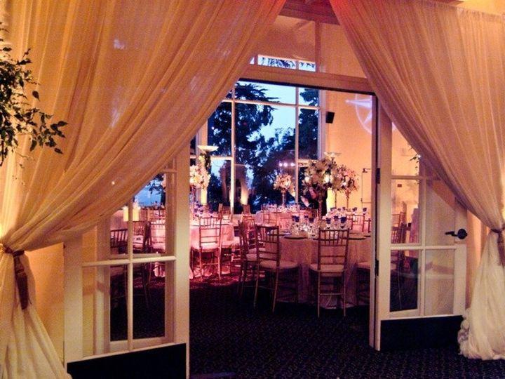 Tmx 1449779140106 Ventana Entrance Draping San Francisco, CA wedding venue