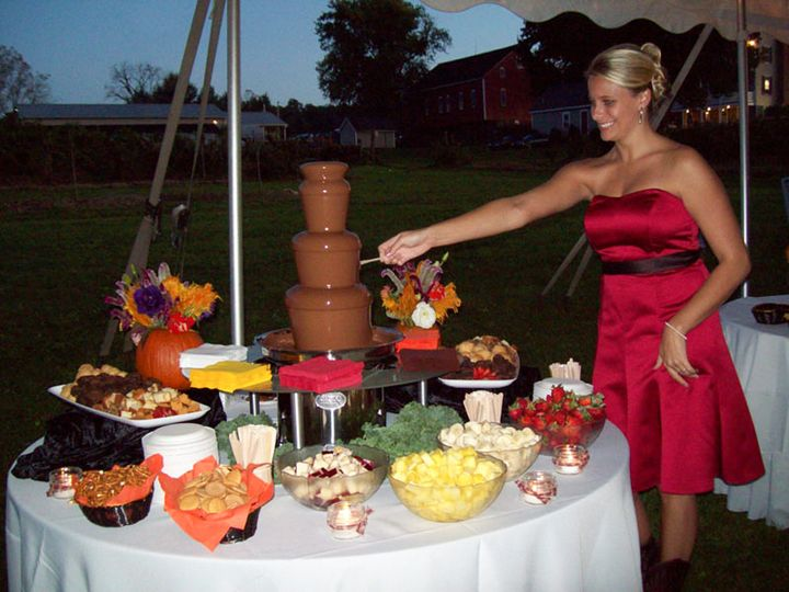 Tmx Chocolate Fountain 51 32937 Red Lion, PA wedding catering