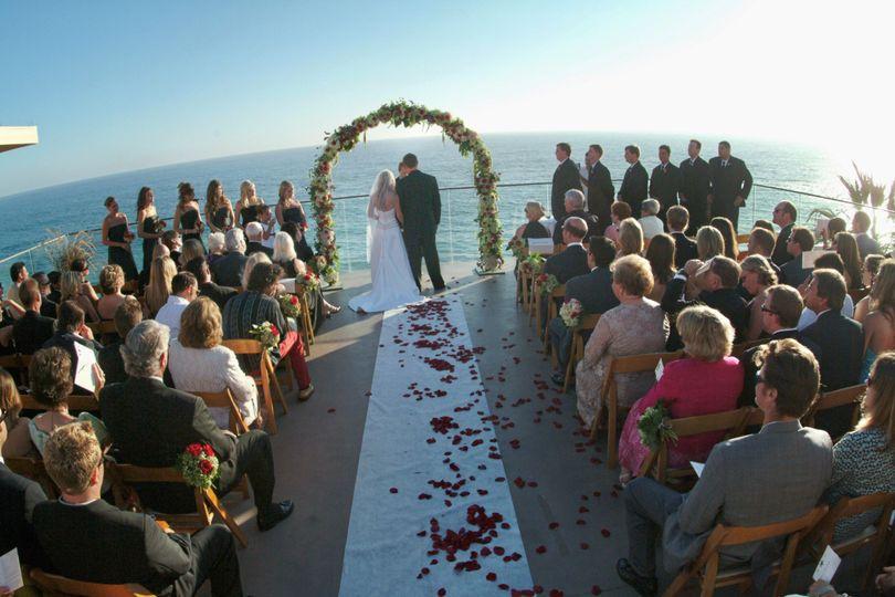 great shot wedding ceremony
