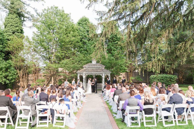 Garden wedding | Anna Grace Photography
